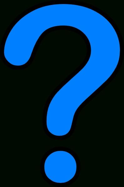 396x597 Blue Question Mark Clip Art Clipart Panda