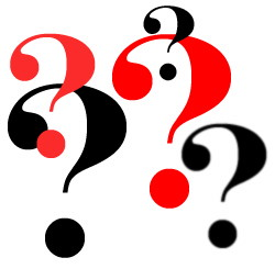 250x245 Funny Question Mark Clipart