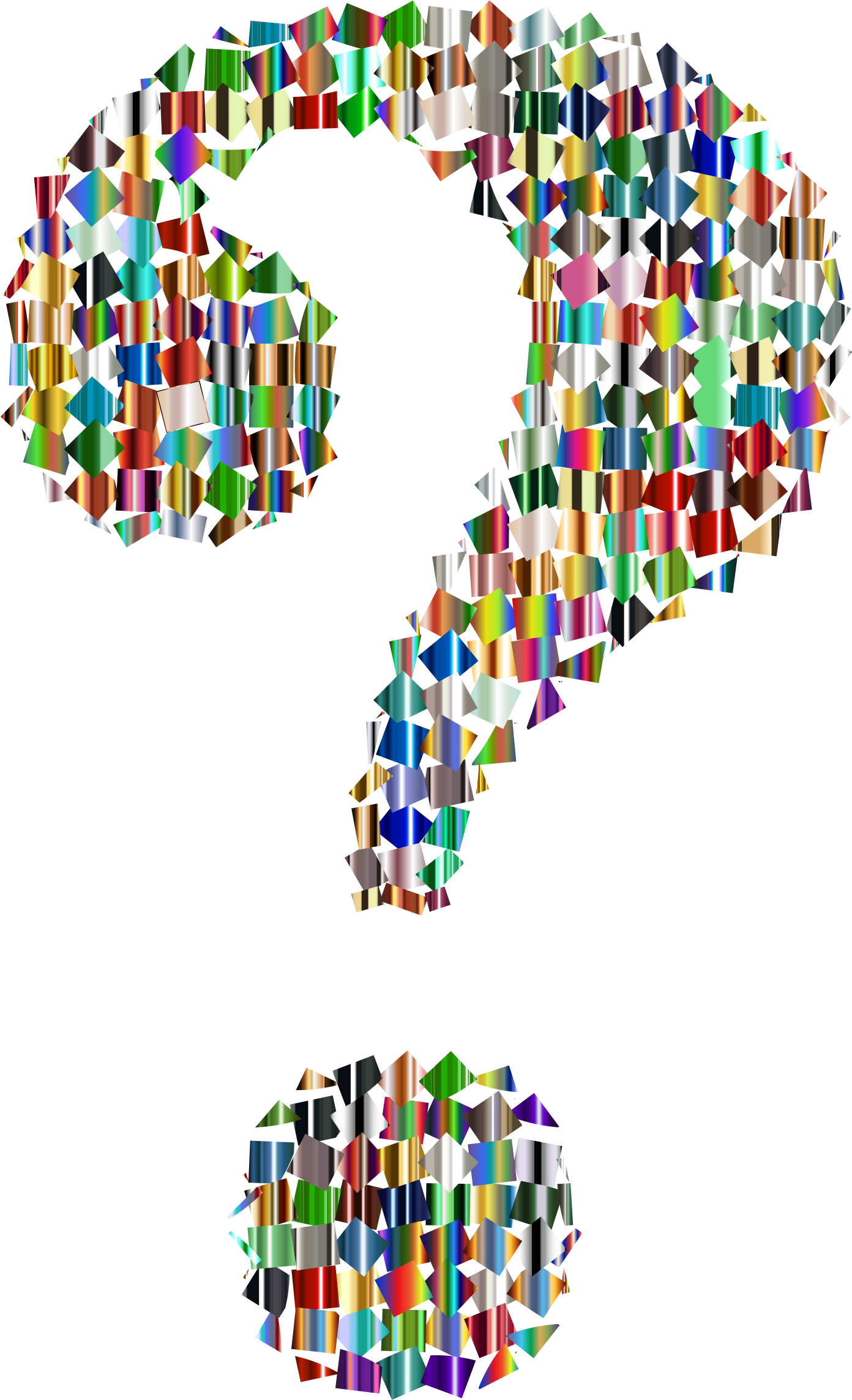 1392x2286 Question Mark Clipart No Background