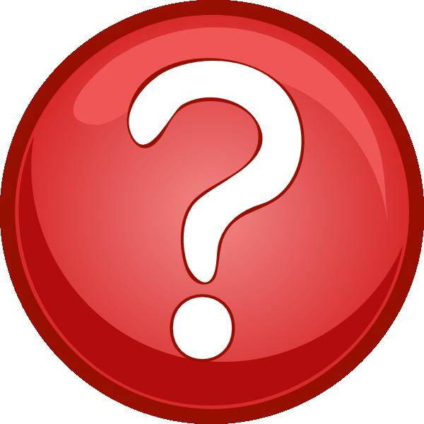 600x600 Red Question Mark Circle Clip Art