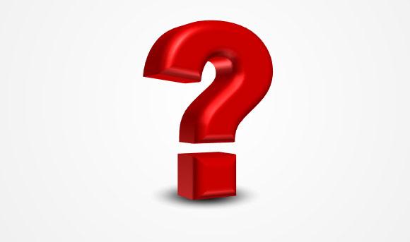 580x343 Question Mark 3d