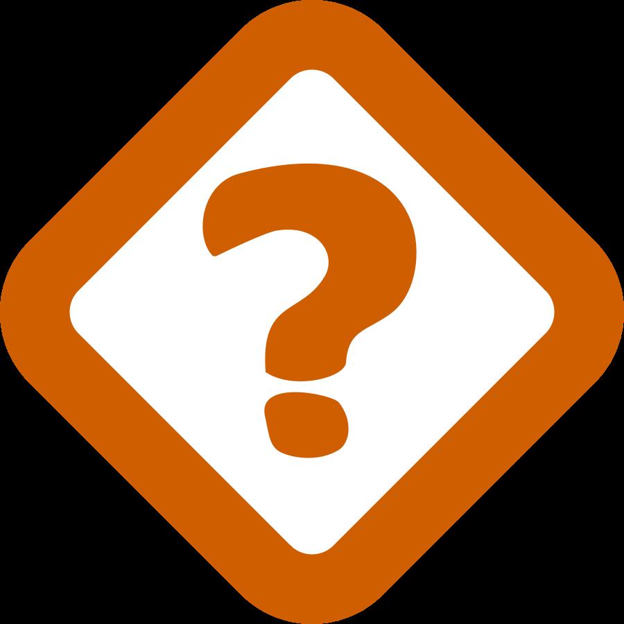 900x900 Problem Clipart Question Mark