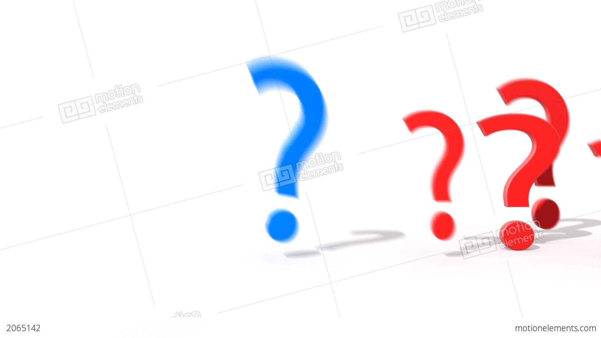 1920x1080 Question Mark Jumping From The Crowd Of Other Ques Stock Animation