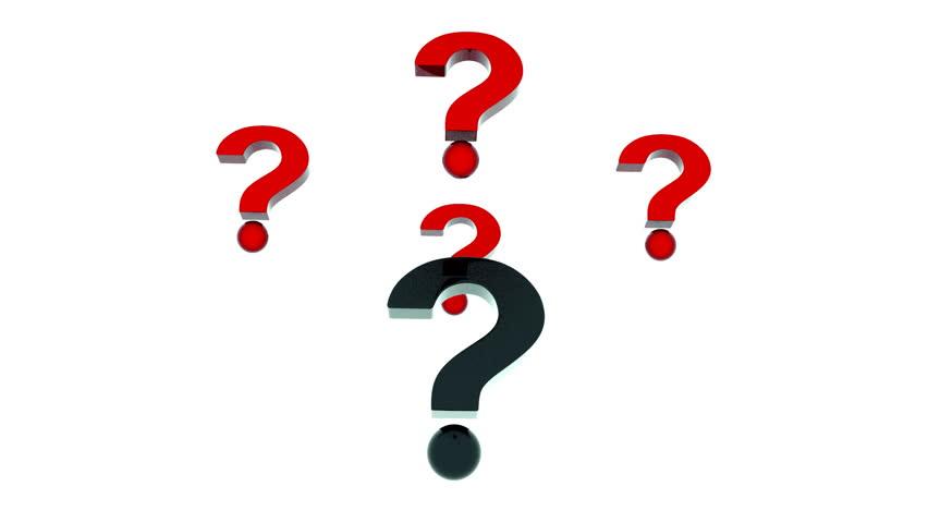 852x480 Question Mark Stock Footage Video 2843611 Shutterstock