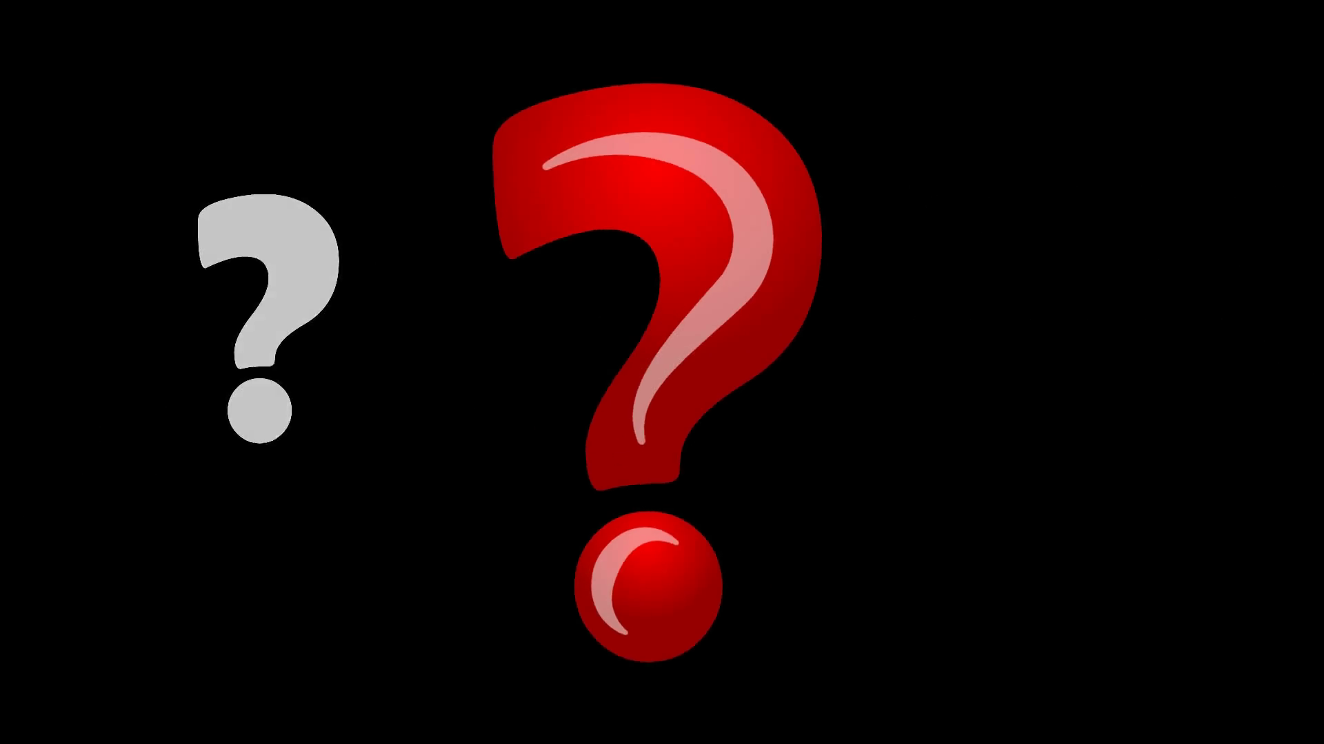 1920x1080 Question Mark Animation, Quiz, Background. Motion Background