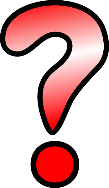 348x599 Red Question Mark Clip Art