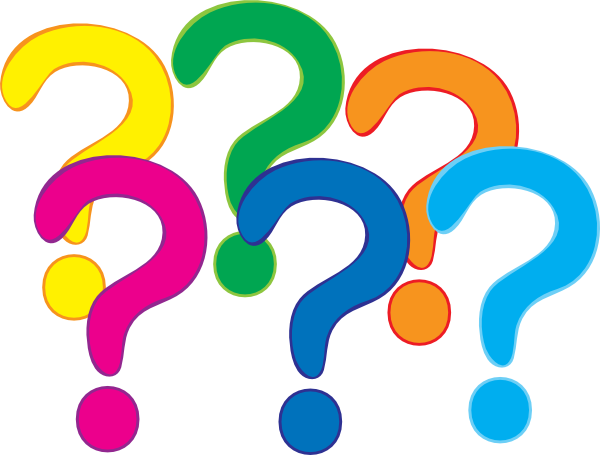 600x455 Question Mark Clip Art Coloured Question Marks Clip Art