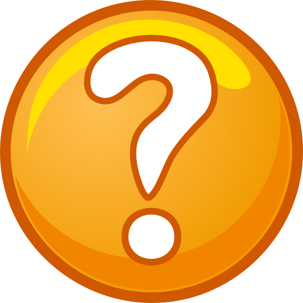 600x600 Free Clipart Question Mark