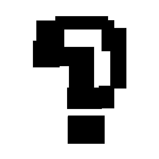 512x512 Question Mark Clip Art Black And White Clipart Panda