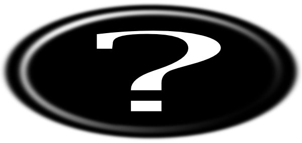 600x285 Question Mark Clip Art