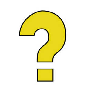 300x300 Yellow Question Mark Clipart