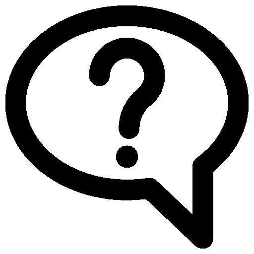 512x512 Bubble Clipart Question Mark