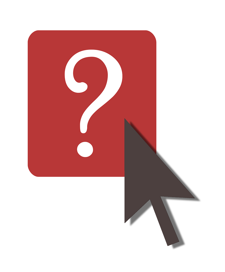 958x1161 Question Mark Free Stock Photo Illustration Of Mouse