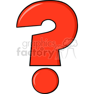 300x300 Royalty Free 6249 Royalty Free Clip Art Cartoon Red Question Mark