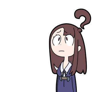 370x320 Confused Looking Anime Girls With Question Marks Above Their Heads