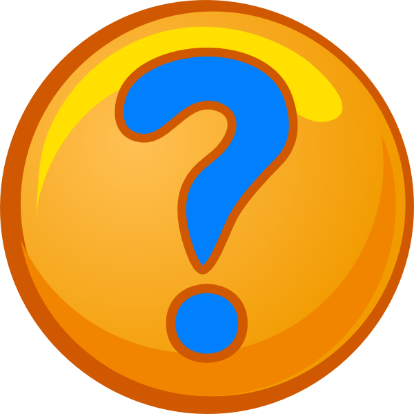 600x600 Moving Clipart Question Mark