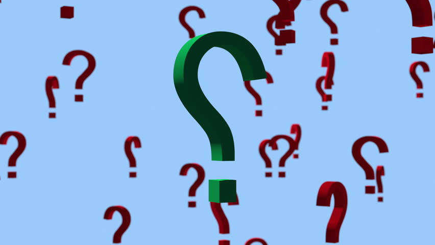 852x480 Question Marks Animation