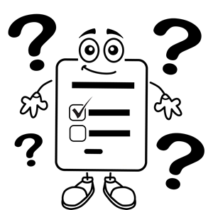 300x296 Question Mark Clipart Questionnaire