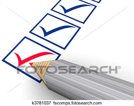 450x357 Stock Illustration Of The Column Of The Questionnaire. K3781037