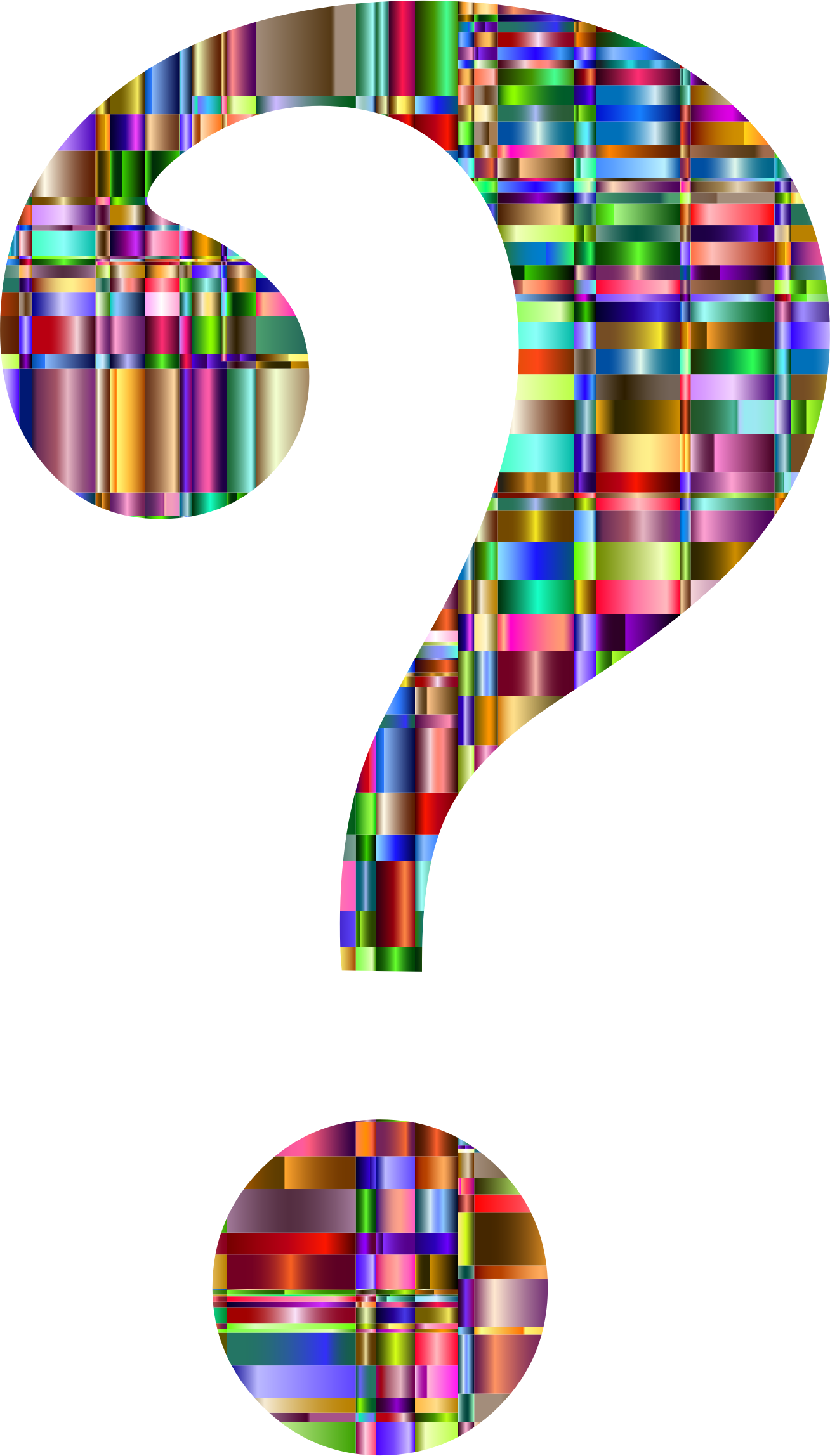 1308x2296 Question Mark Graphics Collection