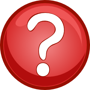 300x300 Red Question Mark Clipart