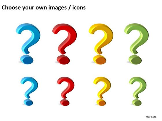 560x420 Editable Question Marks Clipart Powerpoint Slides