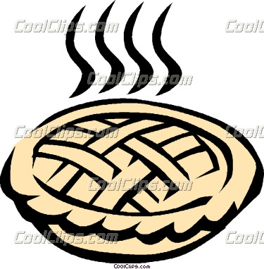 375x382 Pie Clipart Baked