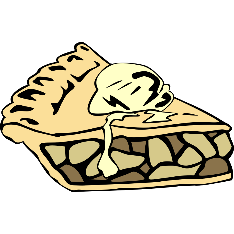 800x800 Pies Clipart Apple Crumble