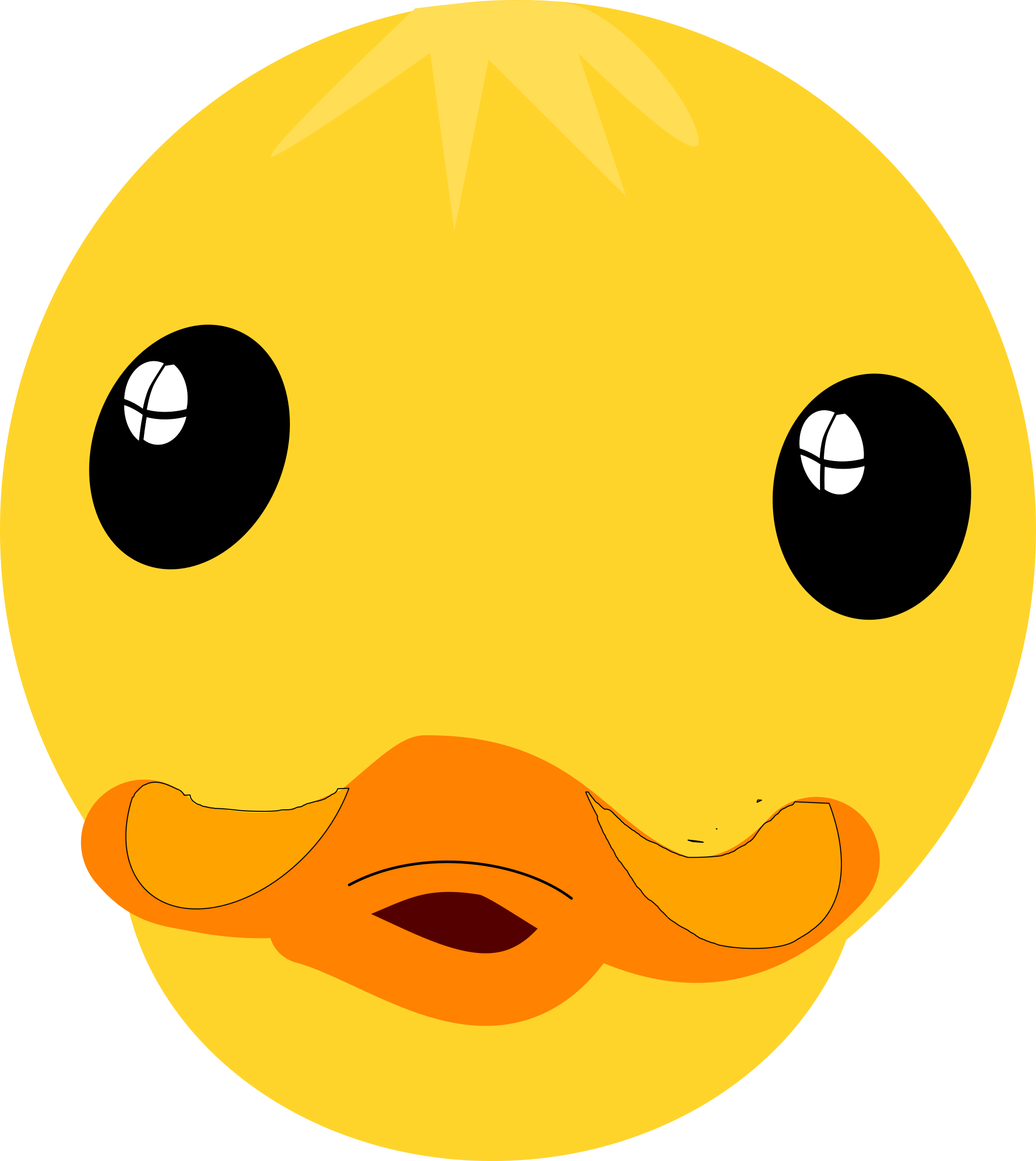 2144x2400 Duck Lips Clip Art Clipart Collection