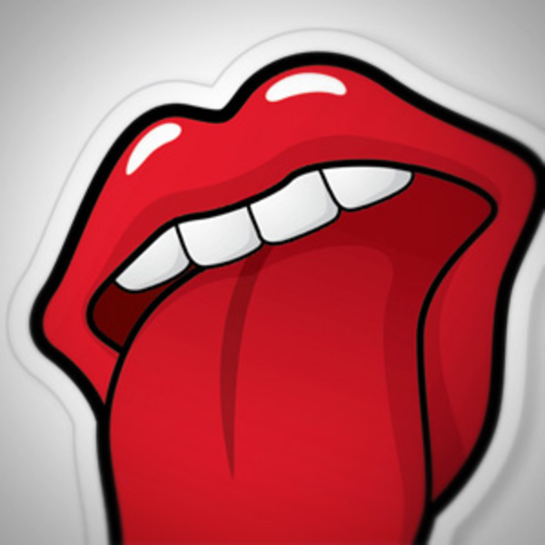 600x600 Mouth Tongue Clipart