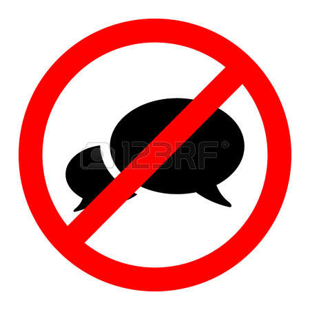 450x450 Quiet Please Clipart Free