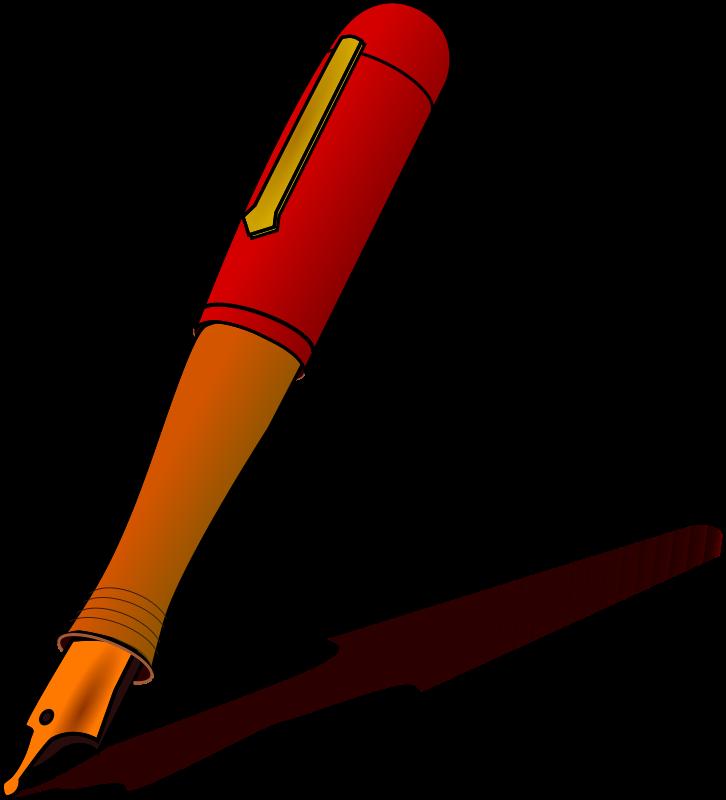 726x800 Fountain Pen Cliparts