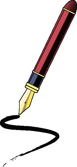 270x587 Ink Pen Clip Art