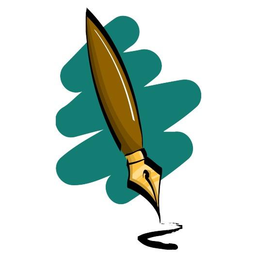 530x530 Ink Clipart Calligraphy Pen
