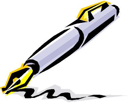 449x364 Ink Pen Clipart