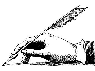 320x240 Quill Pen Clip Art