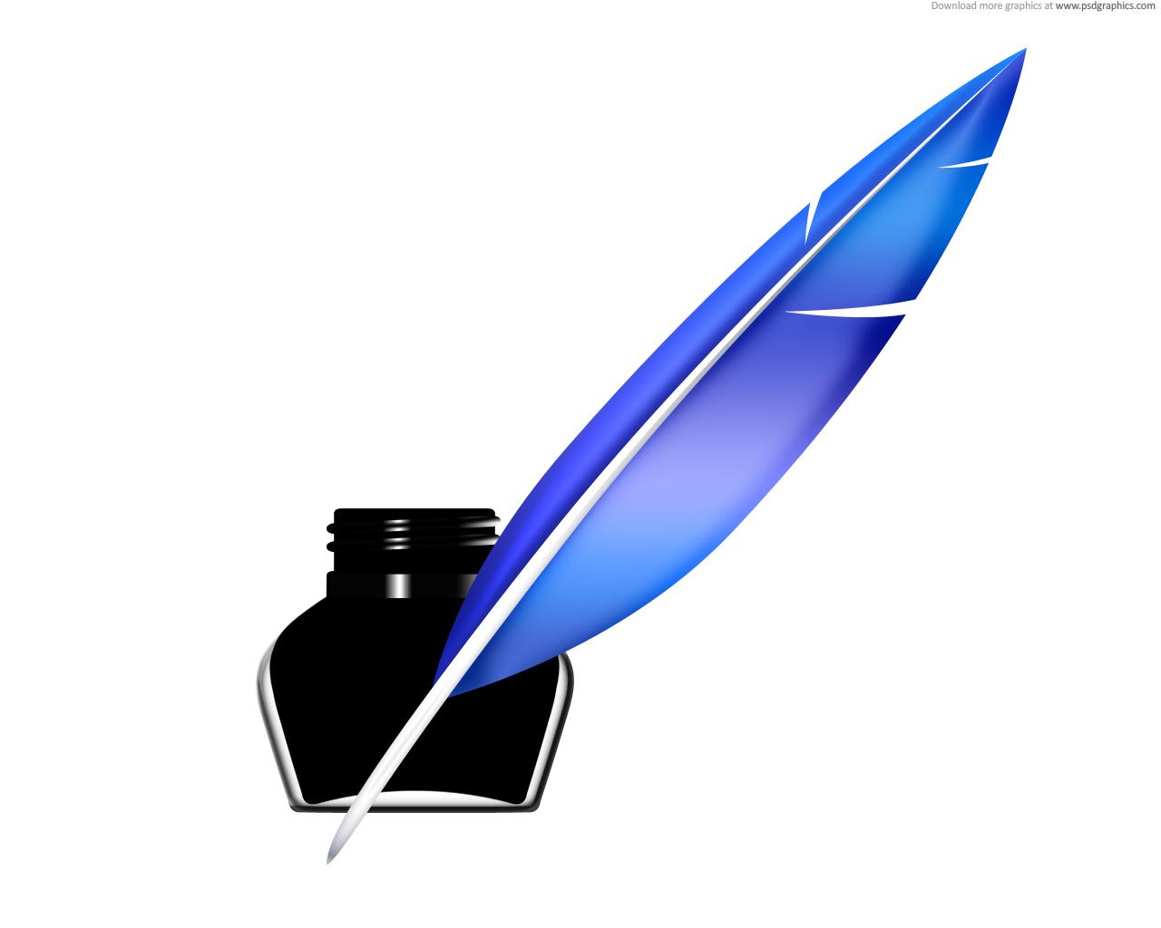 1280x1024 Quill Pen Clip Art 4