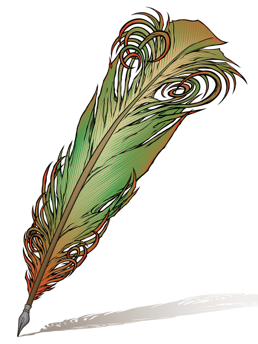 855x1140 Quill Pen Clip Art Clipart Free To Use Resource
