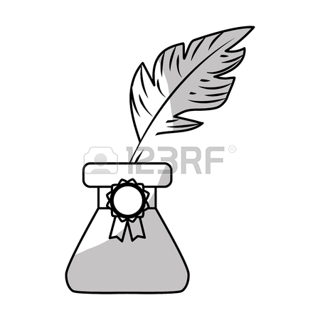 Quill Clipart Black And White