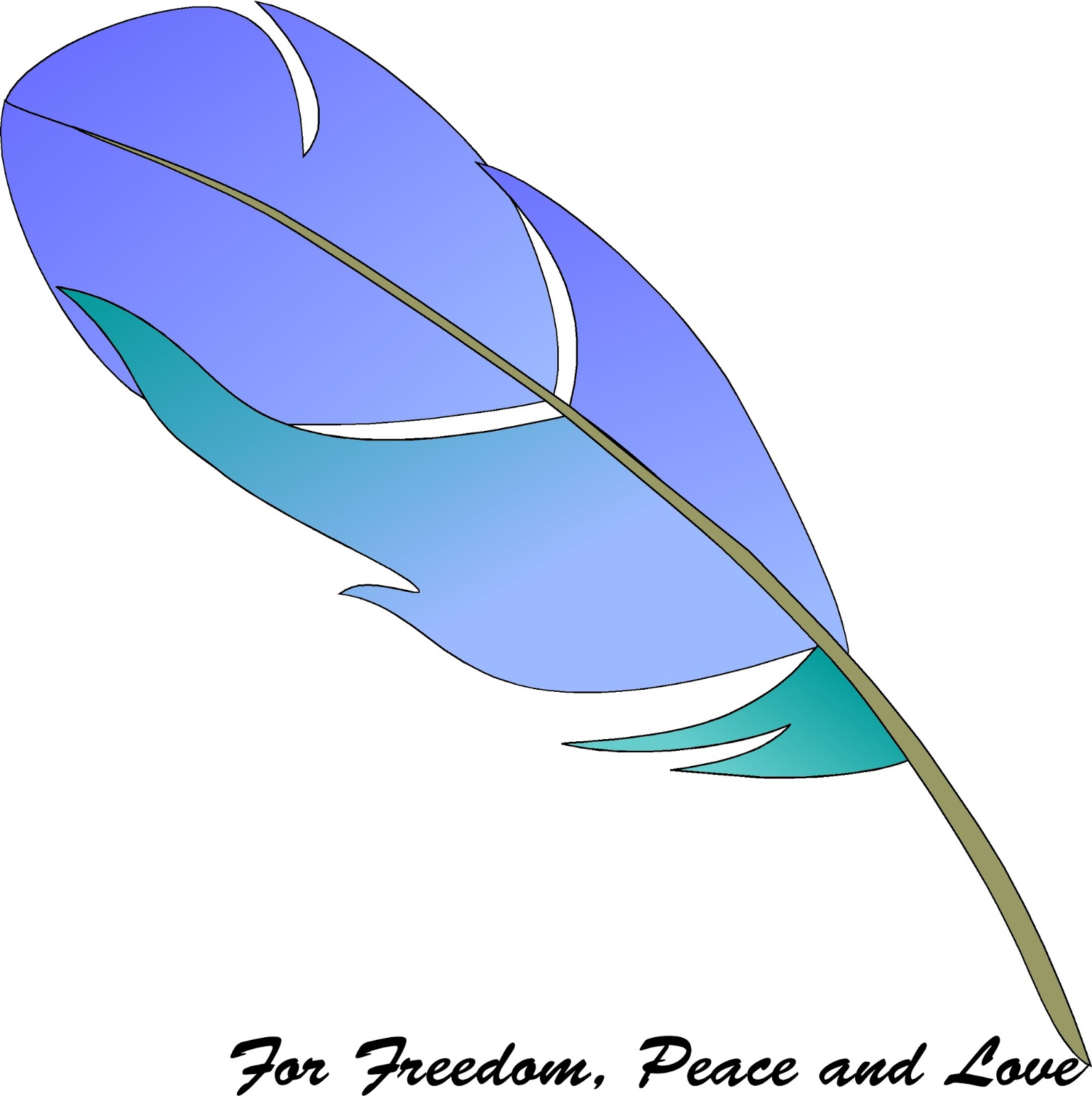 1595x1600 Quill Clipart