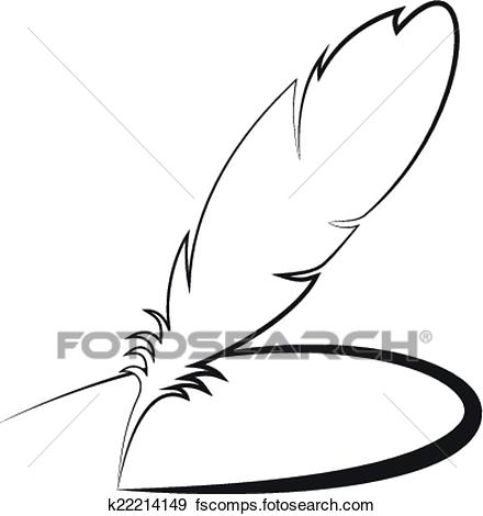 440x470 Quill Pen Clipart And Illustration. 2,715 Quill Pen Clip Art