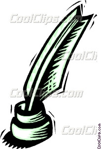 205x300 Images Feather Quill Pen Clip Art