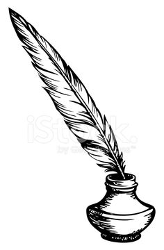 236x360 Ink clipart feather pen