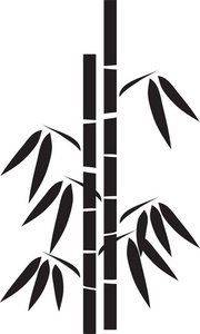 180x300 Bamboo Silhouette Clip Art Bamboo Clipart Image