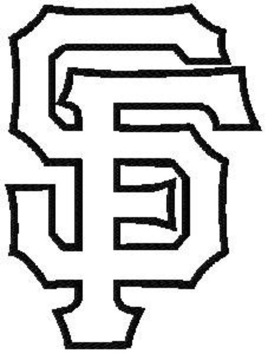 540x714 San Francisco Giants Coloring Pages