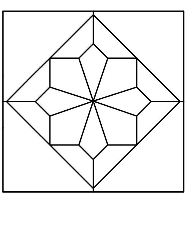 Quilt Pattern Coloring Pages | Free download best Quilt Pattern ...
