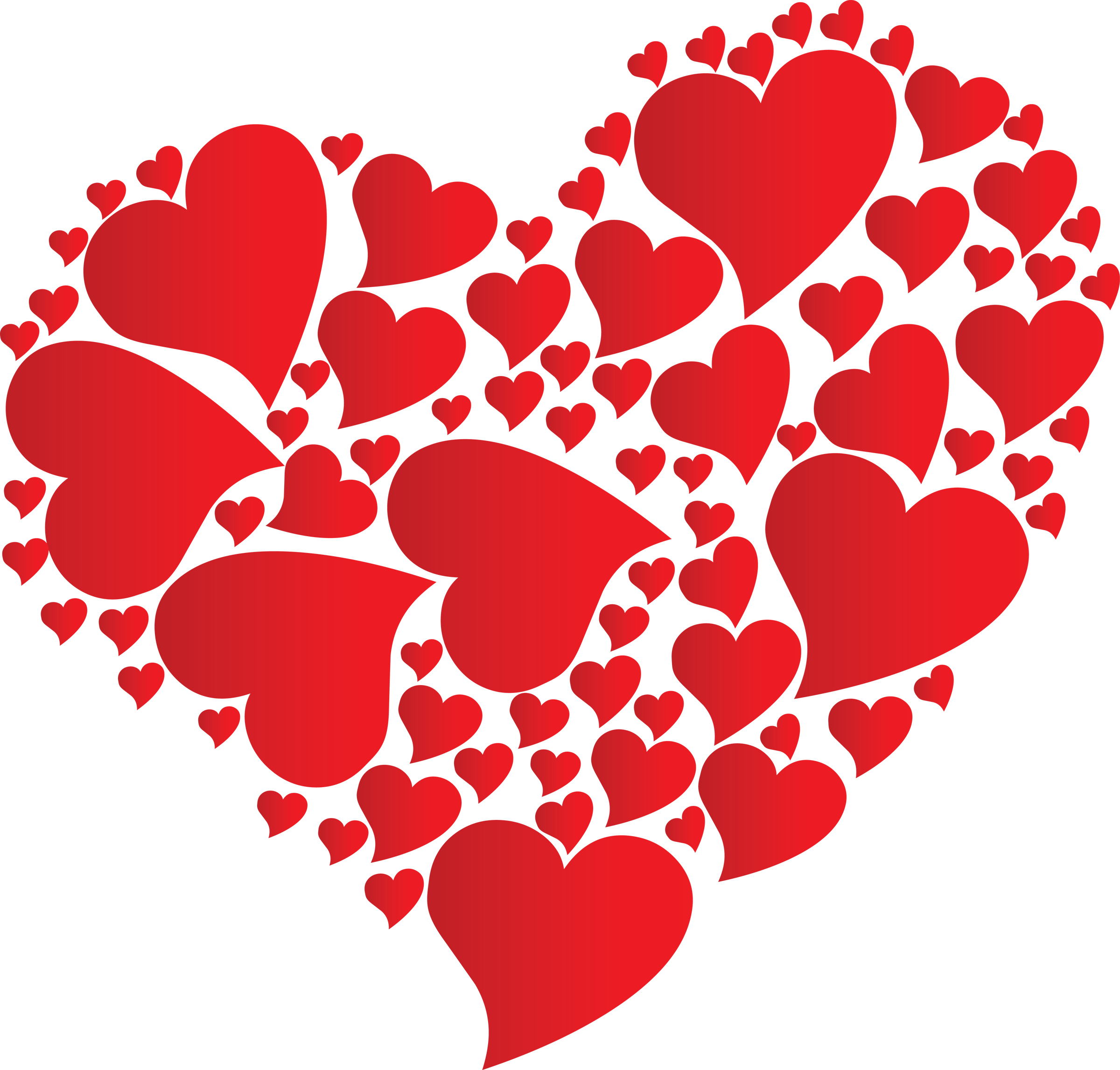 2400x2293 Heart Clip Art Seymour Quilters Guild