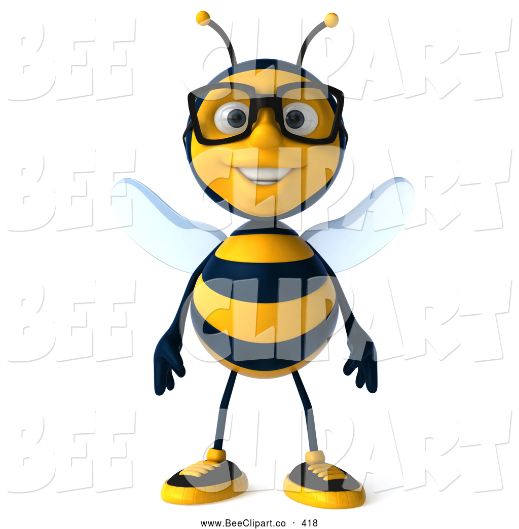 1024x1044 Bug Wearing Glasses Clipart