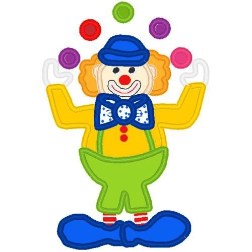 500x500 Clown Clipart Juggle