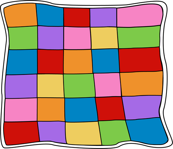 550x474 Patchwork Clipart Bed Quilt